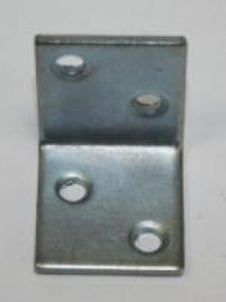 Уголок мебельный Стис-М УМ-28 цинк бел.