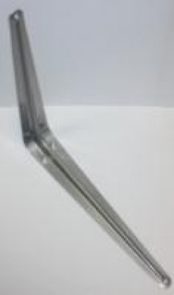 Уголок д/полок серебро-350х300 (144/24)