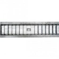 Решетка водоприемная РВ -10.13,6.100-ячеистая стальная оцинкованная