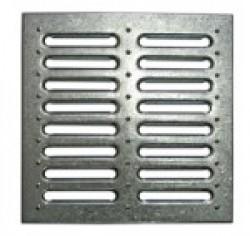 Решетка водоприемная к дождеприемнику РВ-28,5.28,5 штампованная стальная оцинкованная