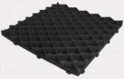Решетка газонная РГ-60.60.4 пластиковая черная