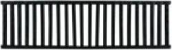 Решетка стальная (110х32) к Арт.4300
