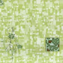 Пвх панель 80074 Желто-зеленый акцент