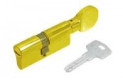 Цилиндровые мех. Кале ЦМ 164GM/68 (26х10х32)мм латунь анг.кл./верт.плоская