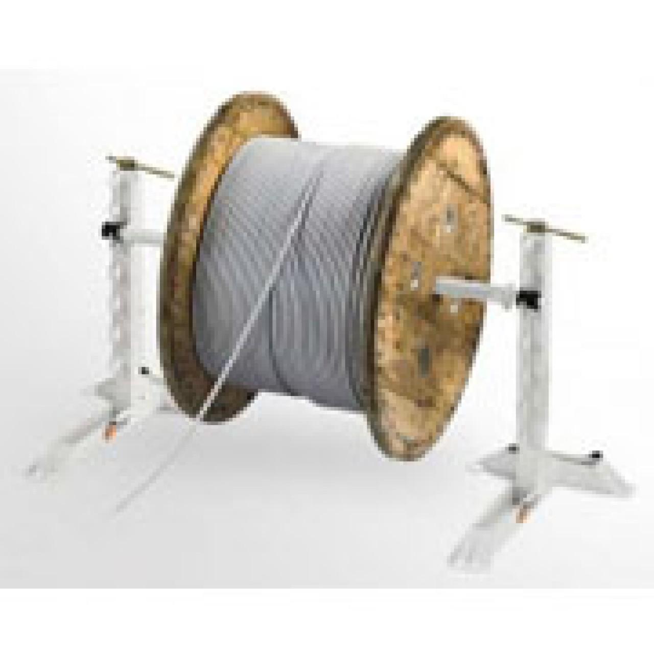 Самодельная катушка для размотки кабеля - Полезные самоделки 100