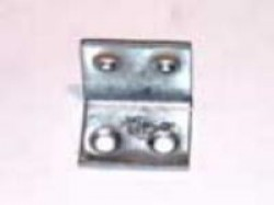 Уголок мебельный Стис-М УМ-25 цинк бел.