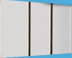 ПВХ панель золото двухсекционная