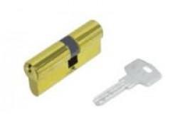 Цилиндровые мех. Кале ЦМ 164BN/68 (26х10х32)мм латунь перфокл./перфокл