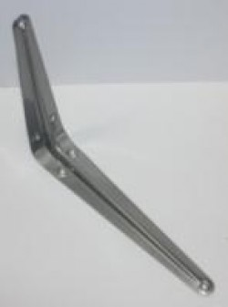 Уголок д/полок серебро-250х200 (288/24)