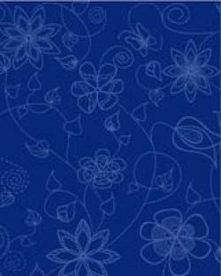Плитка Gzhel синяя 20х25