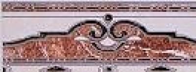 Бордюр Аrоа brown 7.5х20