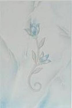 Декор Венера голубой 20х30