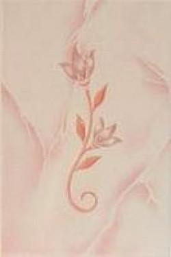 Декор Венера розовый 20х30