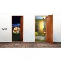 Дверные накладки 3Д ВИКТОРИЯ 600\700\800х2010х3,2мм Д18