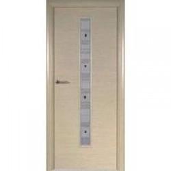Двери «Потенциал Плюс», Модель «Дуб беленый», полотно глухое(ншг-бд), дуб беленый, 55/60-800 мм