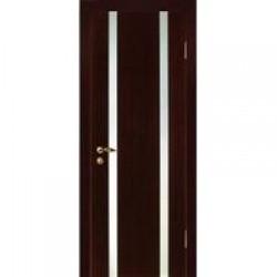 Двери «МариаМ», Модель «Диалог» (шпон), полотно остекленное, дуб, венге, 550-900 мм