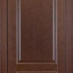 Двери «ДОП№1», Модель:Porta Classic «Dinastia», полотно глухое, орех темный, орех миланский, 550-700 мм