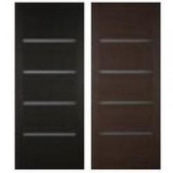 Двери «Принцип», Серия Арт-лайн: коллекция «Степ», полотно глухое/ остекленное, 600-900 мм