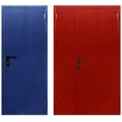 Двери стальные противопожарные«Контур», дп-1-60 однопольная