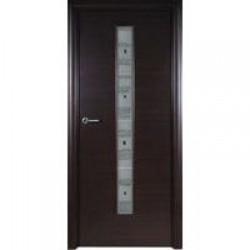 Двери «Потенциал Плюс», Модель «Венге», полотно глухое(ншг-в), венге, 55/60-800 мм