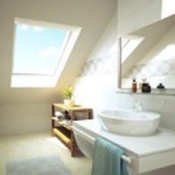 Мансардное окно VELUX GGU 0073 (модель с белым полиуретановым покрытием)