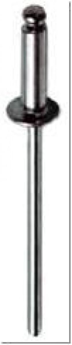 Заклепки вытяжные, алюминий-сталь 3,2x6
