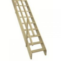 Fakro Межэтажная лестница  «Дачница» MSU 70х145х290