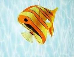 Пано Художественное Рыба-клоун(2 плитки 249x364x7)