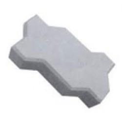 """Тротуарная плитка """"Волна"""" толщиной 60 мм. серая"""
