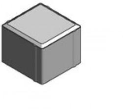 Тротуарная плитка «Кубик» 1К.8 серая