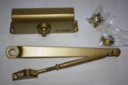 Доводчик дверной LY4 85кг. золото морозост.