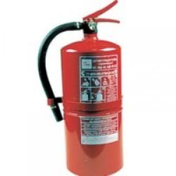 Огнетушитель ОП-4 з объем 5 л, масса заряда 4 кг, общ. вес 6,7 кг.