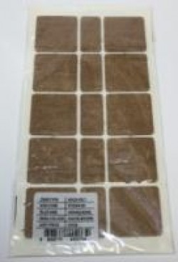 Подкладка РС60х40 BR прямоугольная мебельная под ножку