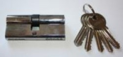Цилиндровые мех. Антал МЦ-70-N-6кл. 70 мм. ((Хром) 120/12