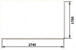 ДВП Белый 3,2х2745х1700