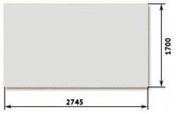 ДВП Серый 3,2х2745х1700