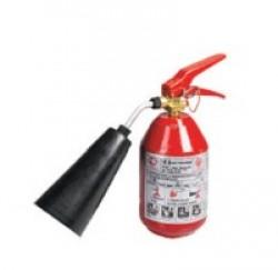 Огнетушитель ОУ-2 объем 3 л, масса заряда 2 кг, общ. вес 9 кг.