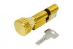 Цилиндровые мех. Кале ЦМ 164BN/68 (26х10х32)мм никель перфокл./перфокл