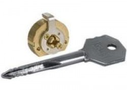 Цилиндровые мех. Кале 164/FB (5 ключей) латунь крест.ключ