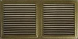 Решетка вентиляционная Стис-М 175х350 бел.