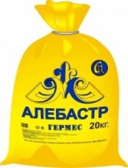 Алебастр (гипс строительный) 1,5кг