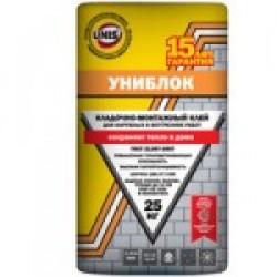 Кладочно-Монтажный Клей ЮНИС Униблок, 25 кг (48шт/под)