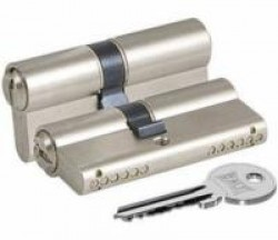 Цилиндровые мех. Кале ЦМ 164GN/62 (26х10х26)мм никель анг.кл./анг.кл.
