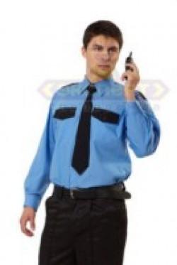 """Рубашка """"Охранника"""" (длинный рукав) (уп.5/40 шт.)"""