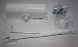 Доводчик дверной LY3 65кг. белый морозост.