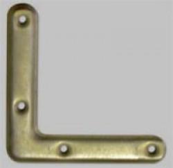 Уголок рамный Стис-М 75 цинк бел.(выпуклый)
