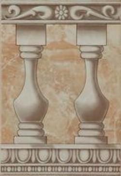 Вставка Мрамор ВС7ММ024К 24.9x36.4x0.7