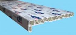 Подоконник НИКО-PLAST белый, 100мм