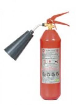Огнетушитель ОУ-1 объем 2 л, масса заряда 1 кг, общ. вес 5,5 кг.