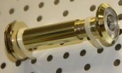 Глазок дверной DVZ2, (16/200/60x100) GP Золото
